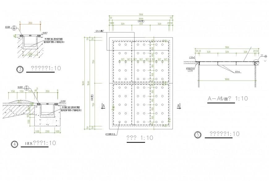 Side drain plan layout file