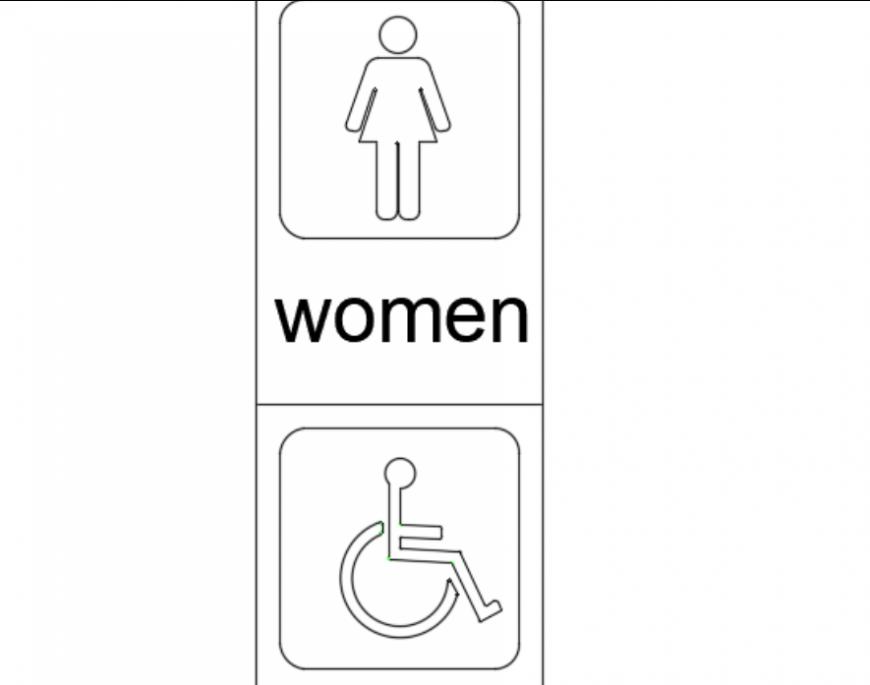 Sign board design