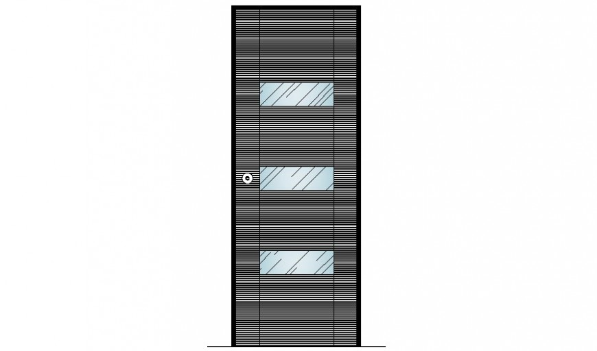 Single Door blocks detail 2d drawing AutoCAD file