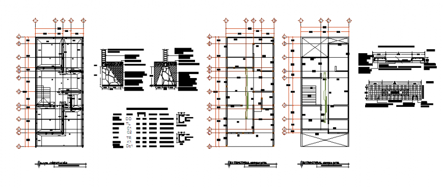 Single family home design architectural structural design drawing