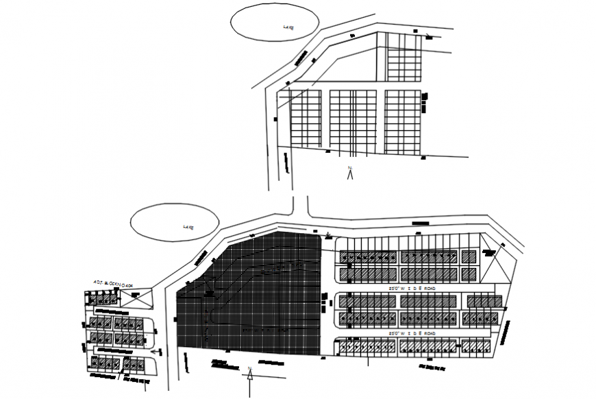 site plan dwg plot