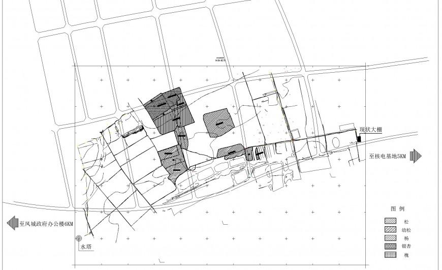 Site plan layout file