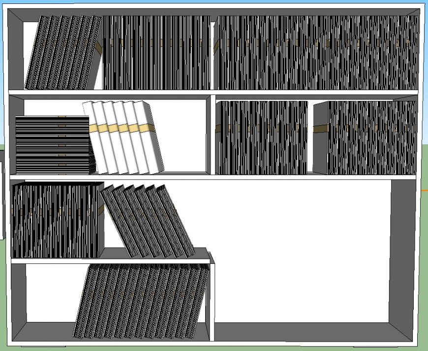 Sketch up file of cupboard