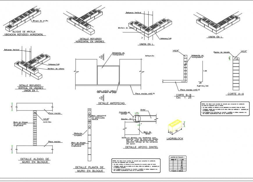 Slab layer vise plan layout file