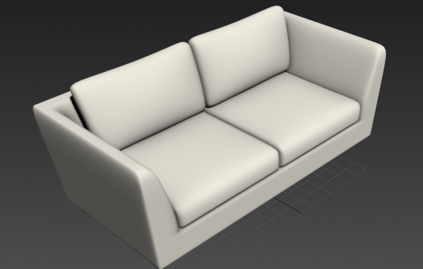 Sofa-set detail 3d model layout 3d max file