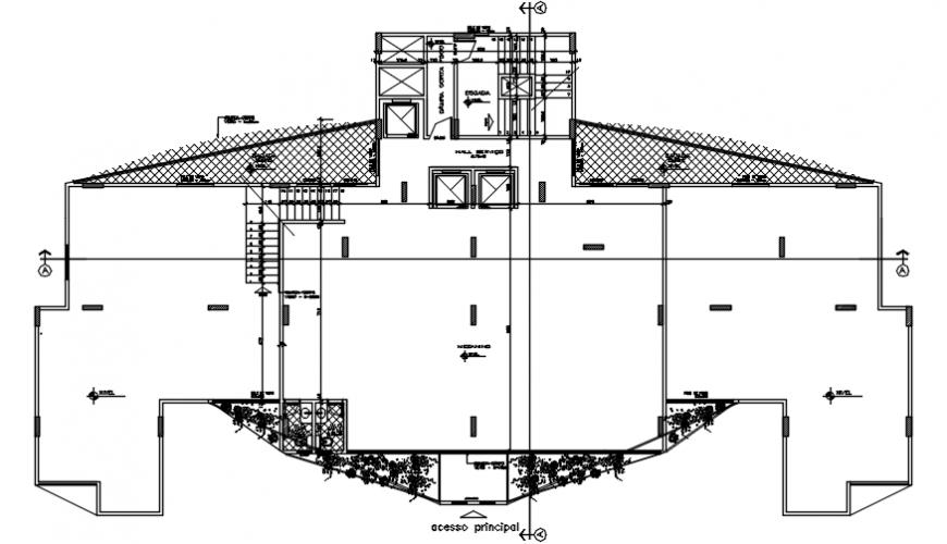 Spacing area concept design