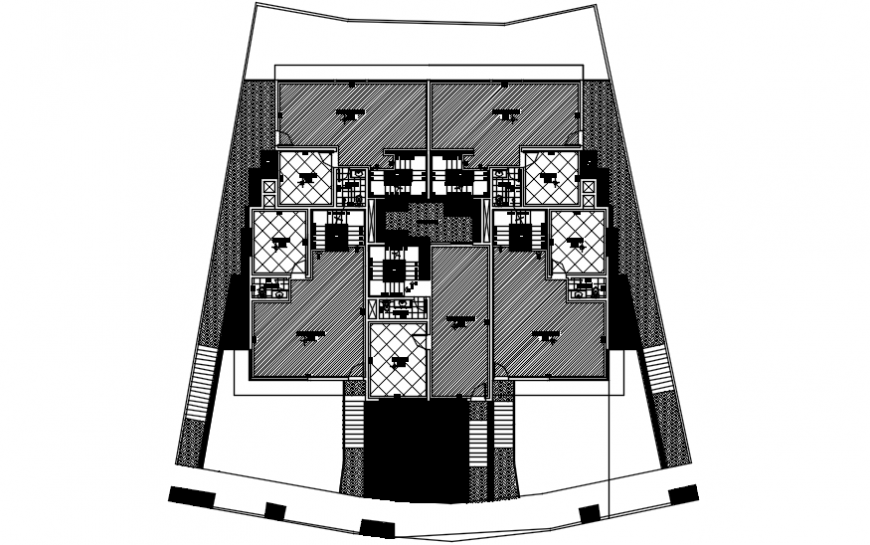 Spacing concept of House 2d concept file