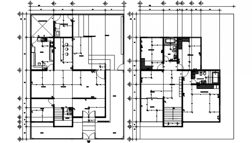 Spacing concept of House 2d files detail
