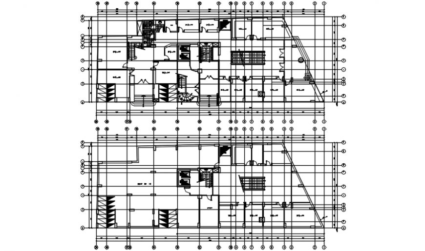 Spacing concept of House complete view