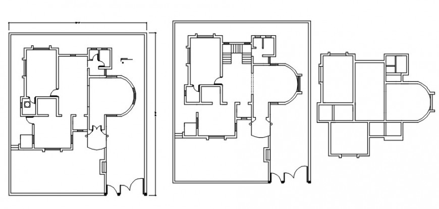 Spacing concept of House details model file