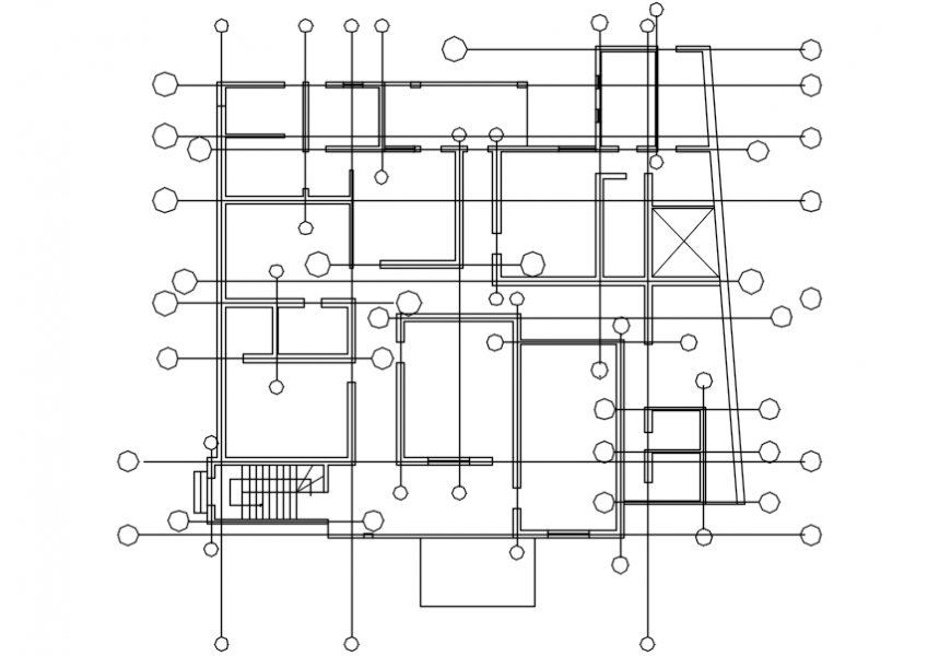 Spacing concept of house file detail model