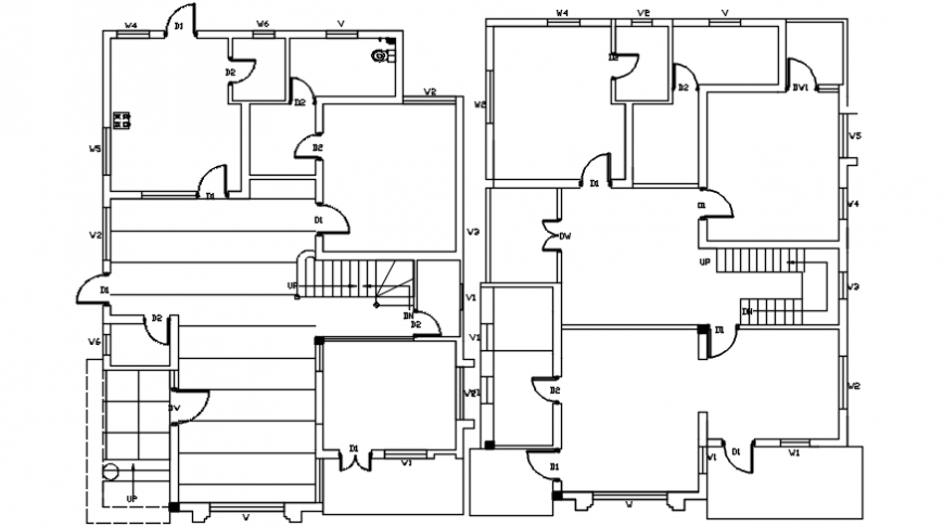 Spacing concept of house files view