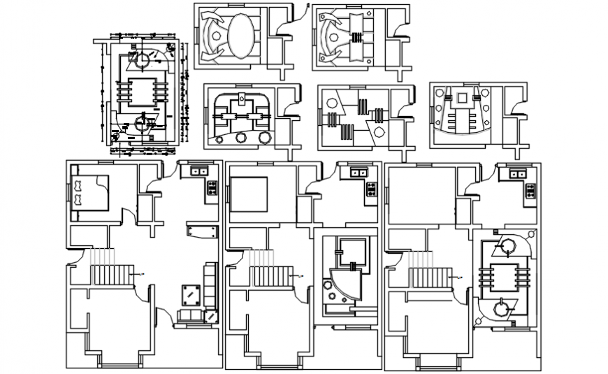 Spacing concept of House with pop