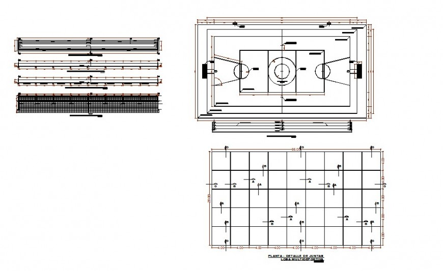 Sports football ground plan detail 2d view CAD block layout file in autocad format
