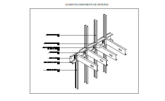 steel structure plan