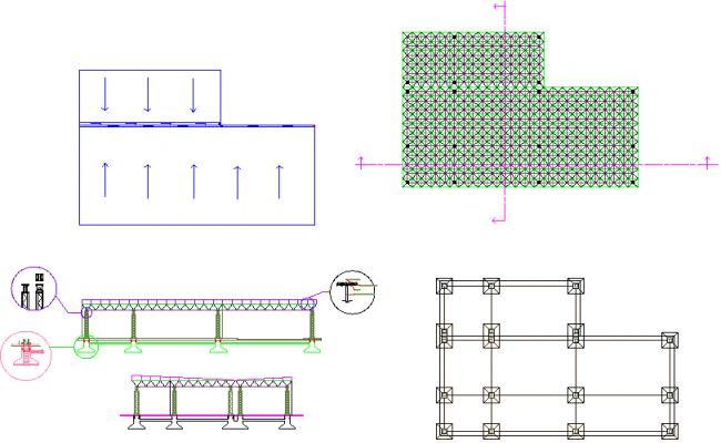 structural plant detail