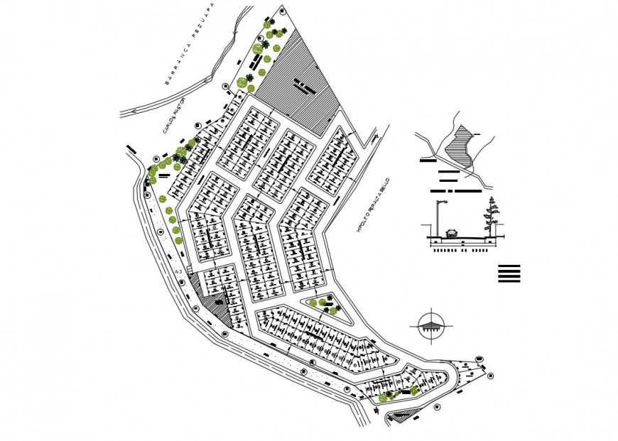 Subdivision office block 79 architecture layout plan details dwg file