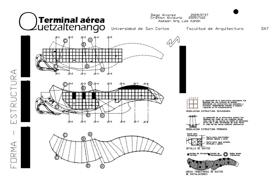 Terminal building terrace plan detail 2d view layout file in autocad format