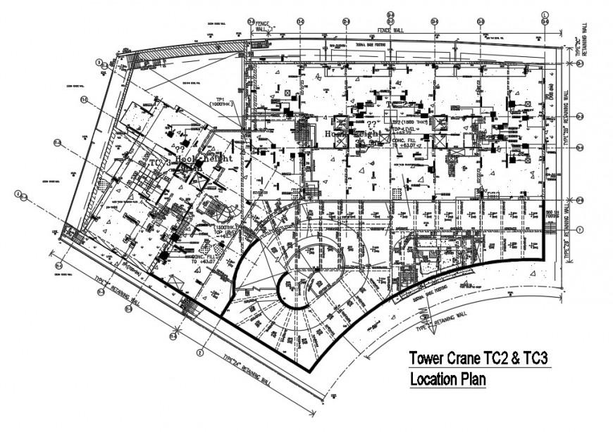 The architecture apartment project detail autocad file