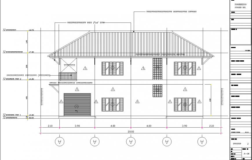 The house plans with a detail dwg file.