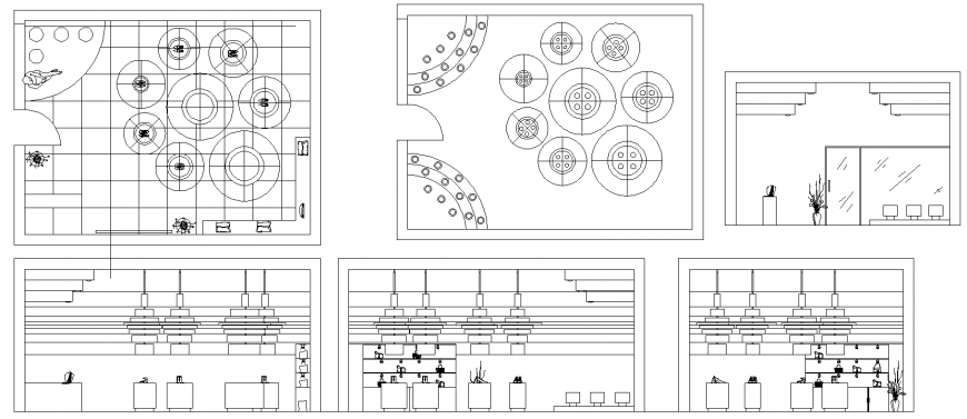 The living room plan furnish detail of dwg file.