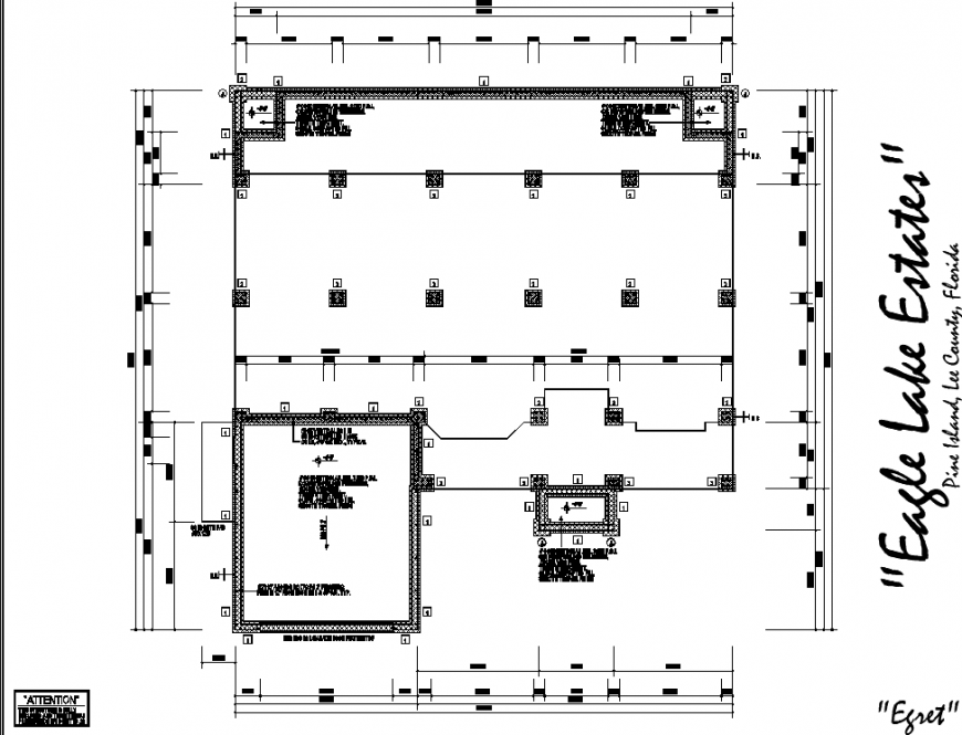 The top view house plan detailed dwg file.