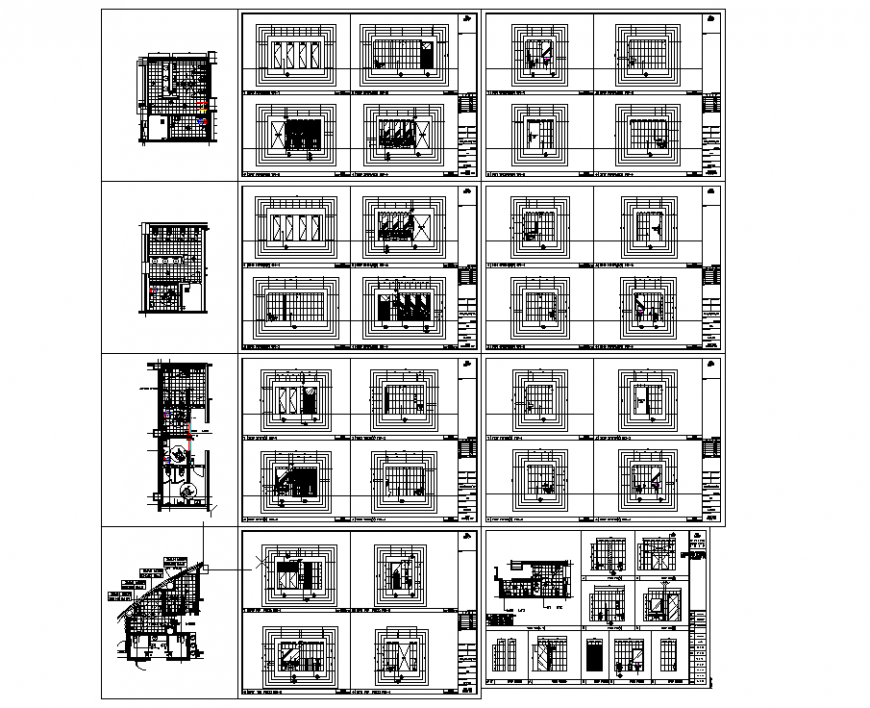 The top view of house plan detail dwg file.