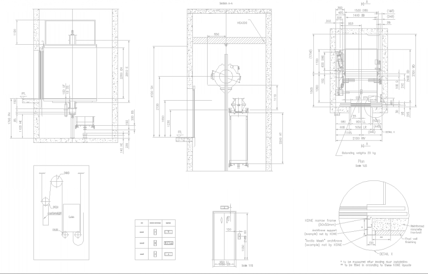The top view window plan detail dwg file.