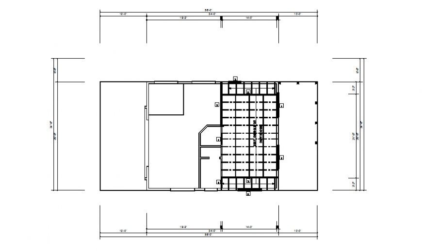 Third ceil house planning detail dwg file