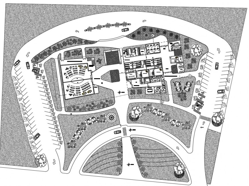 To view architecture plan of a school of music
