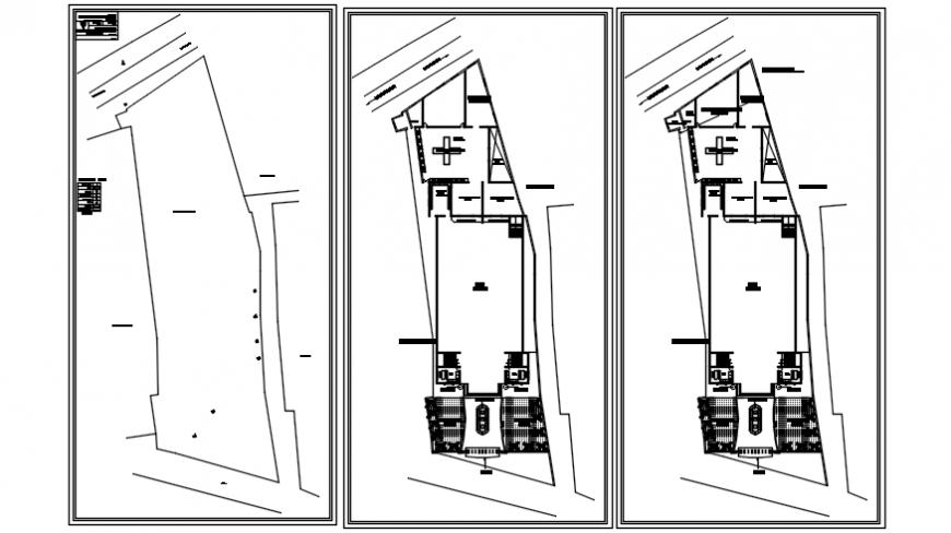 Top view of floor concept