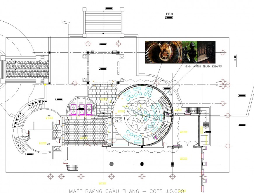 Tower planning autocad file