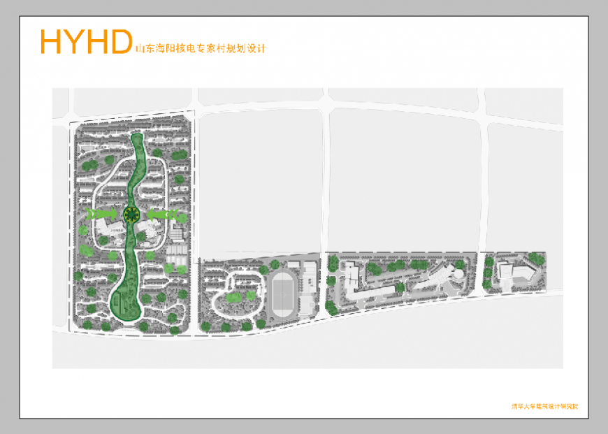Town planning detail layout 3d max file