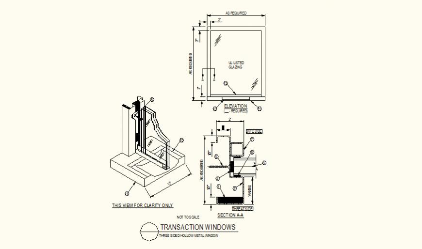 Transaction sliding window detail plan layout file