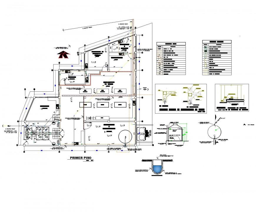 Triumph lacteal plant plan dwg file