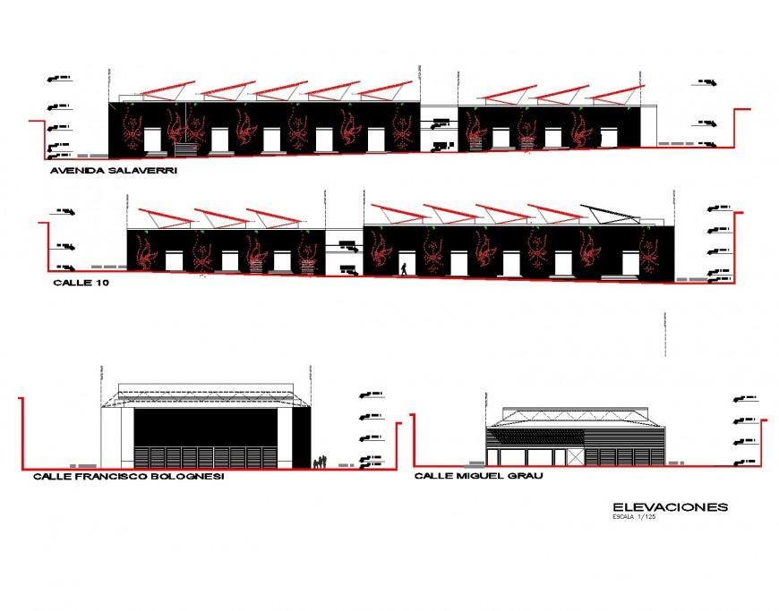 Urban market layout file