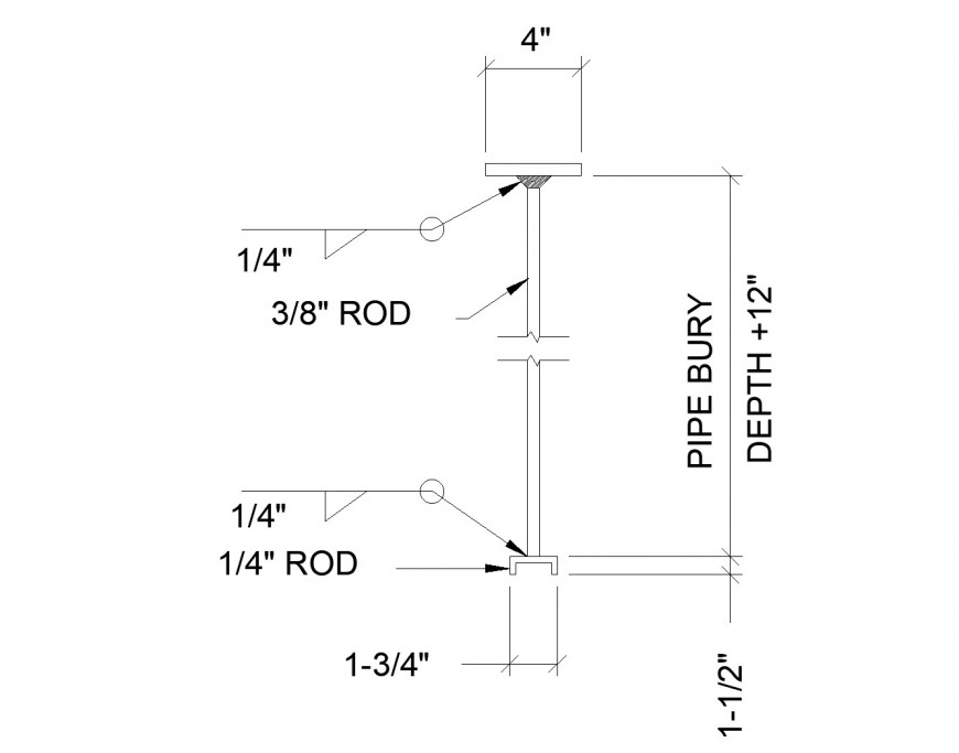 Valve Rod plan dwg file