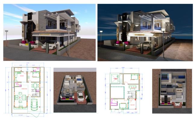 villa house (30'X57')