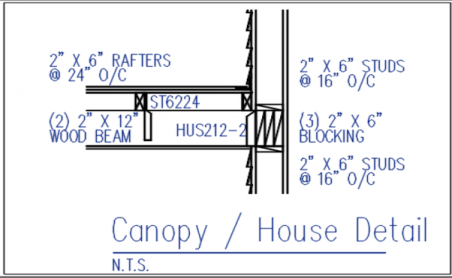 wall plan details with studs dwg file
