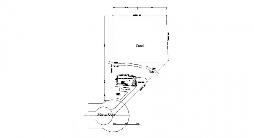 Water irrigation system and canal plumbing construction details dwg file