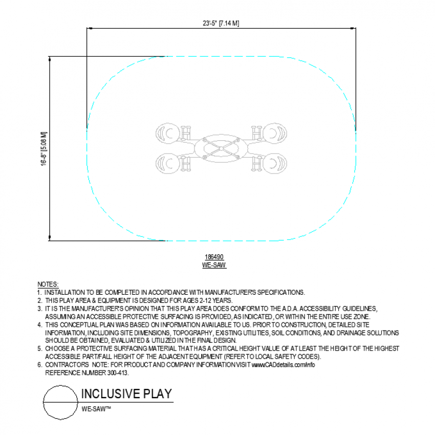 We- saw park layout file