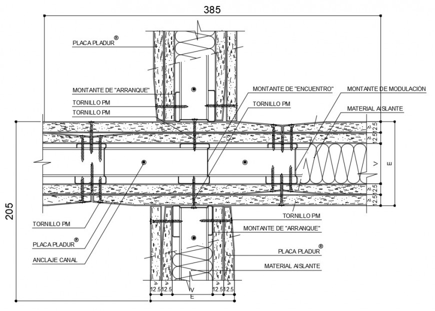 Wood door frame joint and structure drawing details dwg file
