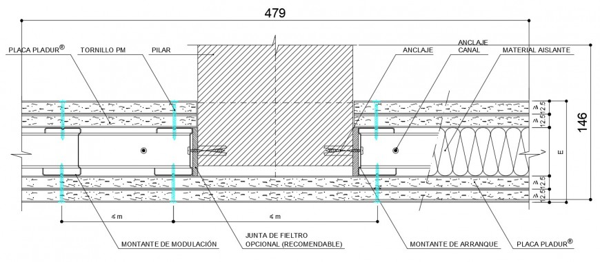 Wood door vertical frame and structure cad drawing details dwg file