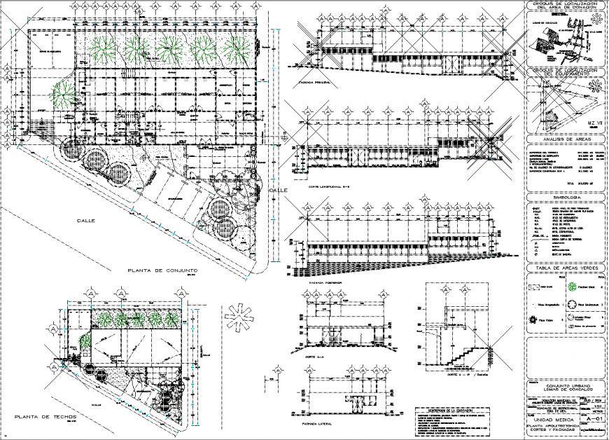Working plan of commercial drawing in file.