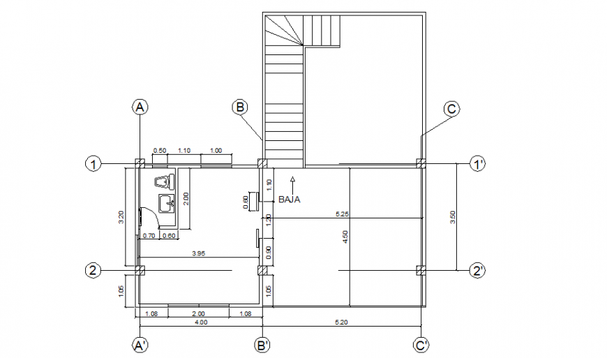 Working small office plan