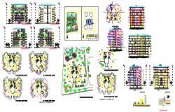 Apartment building of 7 floors