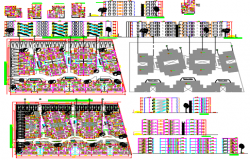 Architecture 5Floors Plan