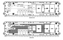 Co-operate building plan 2d view autocad file