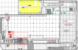 DETAIL COMPRESSOR ROOM PLAN&SECTION DWG FILE