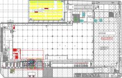 DETAIL COMPRESSOR ROOM PLAN&SECTION DWG FILE